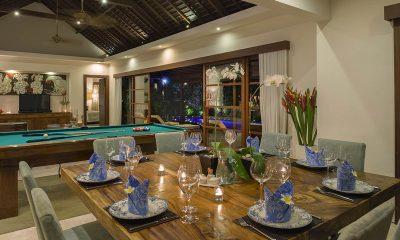 LataLiana Villas 2Br Dining Area   Seminyak, Bali