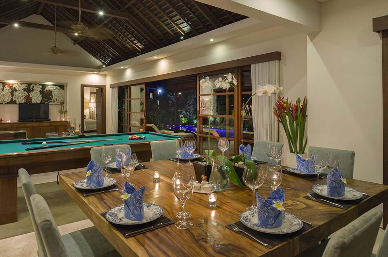 LataLiana Villas 2Br Dining Area | Seminyak, Bali