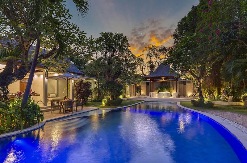 LataLiana Villas Swimming Pool at Night | Seminyak, Bali