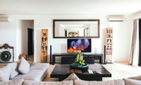 Villa Anucara Living Room with TV | Seseh, Bali