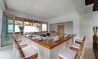 Villa Jajaliluna Dining & Kitchen Area | Seminyak, Bali