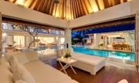Villa Jajaliluna Living Room | Seminyak, Bali