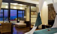 Villa Lega Bedroom and Balcony | Batubelig, Bali