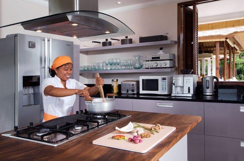 Villa Puri Bawana Kitchen Area   Canggu, Bali