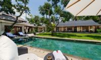 Villa San Pool Side Seating   Ubud, Bali
