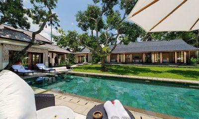 Villa San Pool Side Seating | Ubud, Bali