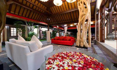 Villa San Indoor Living Area | Ubud, Bali