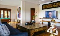 Villa Semarapura Media Room | Seseh-Tanah Lot, Bali