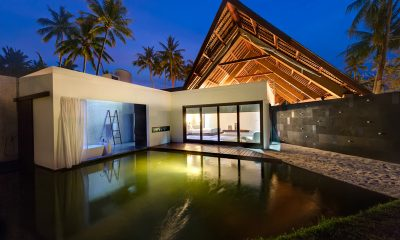 Villa Sapi Bedroom View at Night | Lombok, Indonesia