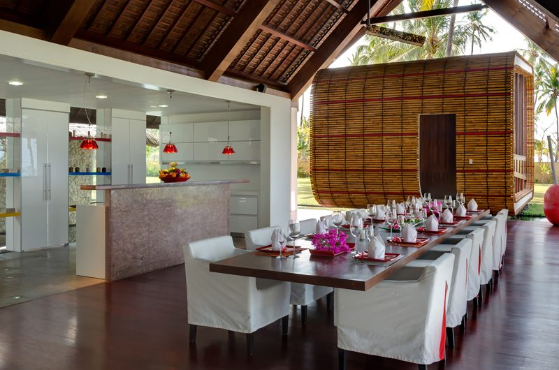 Villa Sapi Dining Area | Lombok, Indonesia