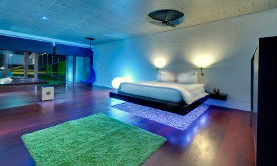 Villa Sapi Spacious Bedroom at Night | Lombok, Indonesia