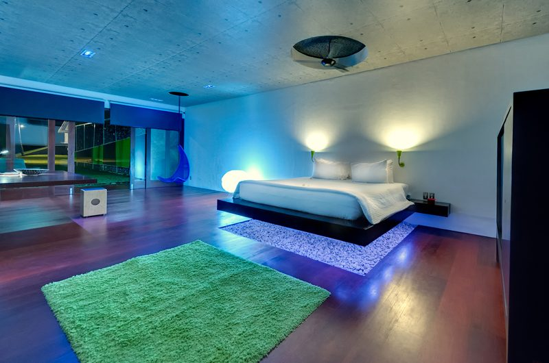 Villa Sapi Spacious Bedroom at Night | Lombok, Indonesia