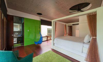 Villa Sapi Bedroom with Wooden Floor | Lombok, Indonesia