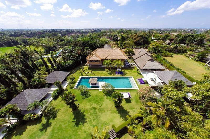 Chalina Estate Bird's Eye View | Canggu, Bali