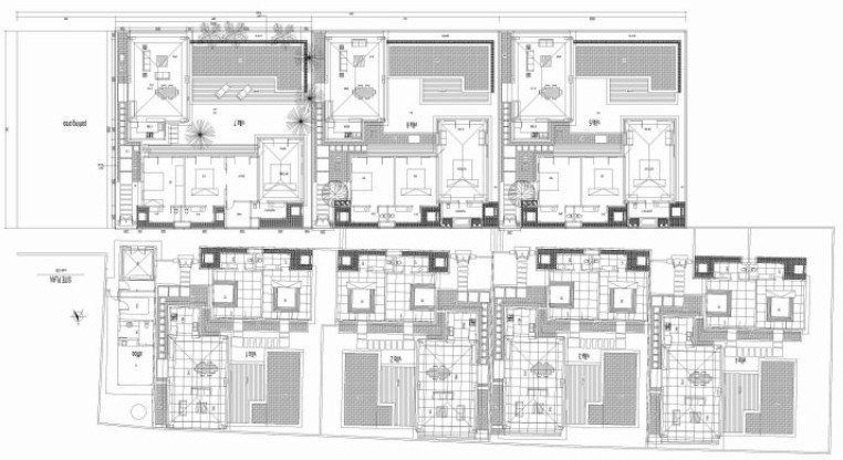Kebali Villas Floorplan | Seminyak, Bali