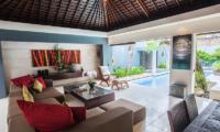 Kembali Villas Three Bedroom Villas Living Area | Seminyak, Bali
