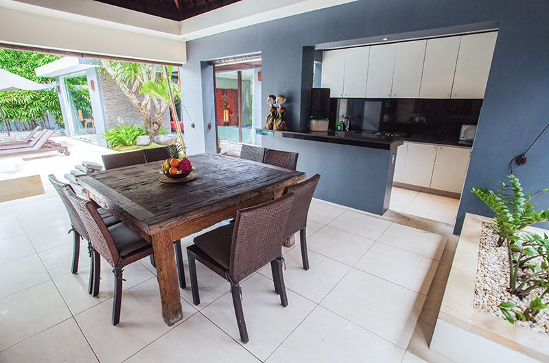Kembali Villas Three Bedroom Villas Dining Table | Seminyak, Bali