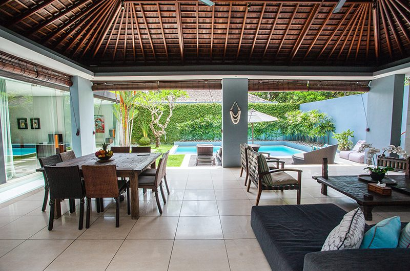 Kembali Villas Two Bedroom Villas Dining Area | Seminyak, Bali
