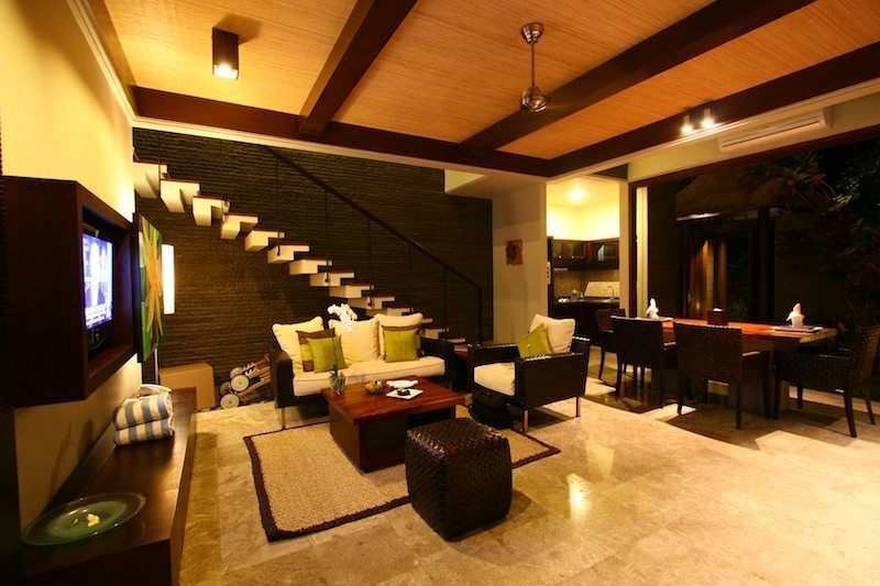 Le Jardin Villas Living Room I Seminyak, Bali