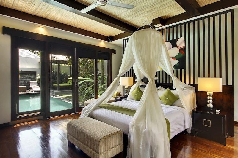 Le Jardin Villas Master Bedroom I Seminyak, Bali