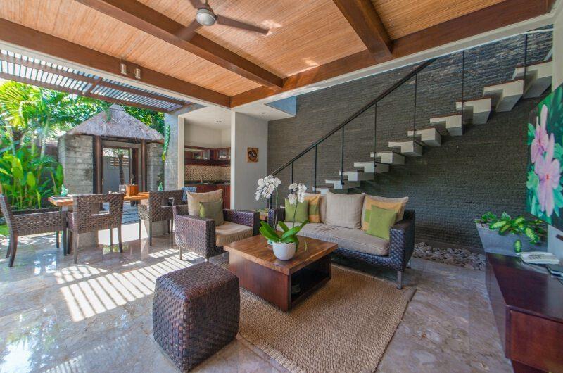 Le Jardin Villas Living and Dining Area | Seminyak, Bali