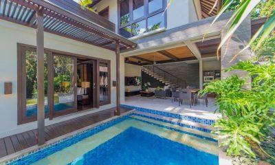 Le Jardin Villas Pool Side Living Area | Seminyak, Bali
