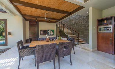Le Jardin Villas Indoor Dining Area | Seminyak, Bali