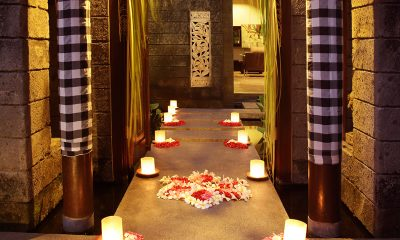 Le Jardin Villas Pathway Romantic Set Up | Seminyak, Bali