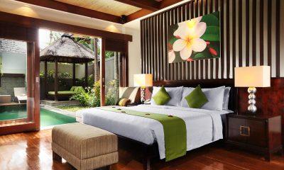 Le Jardin Villas Bedroom with Garden View | Seminyak, Bali
