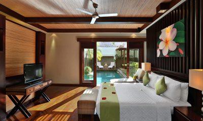 Le Jardin Villas Bedroom with Pool View | Seminyak, Bali