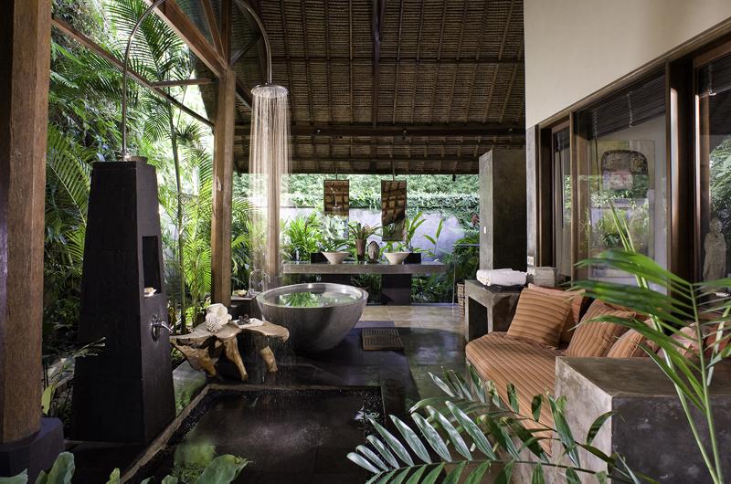 Maya Retreat Outdoor Bathroom   Canggu, Bali