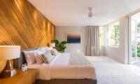 Noku Beach House Bedroom with Lamps | Seminyak, Bali