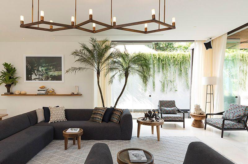 Noku Beach House Living Room | Seminyak, Bali