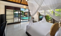 Peppers Seminyak Bedroom One with Pool View | Seminyak, Bali