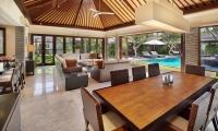 Peppers Seminyak Dininig Area with Pool View | Seminyak, Bali