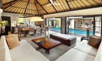 Peppers Seminyak Living Area with Pool View | Seminyak, Bali