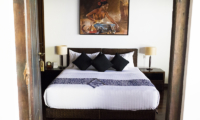 Saba Villas Bali Villa Arjuna Bedroom with Lamps | Canggu, Bali
