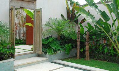 Saba Villas Bali Villa Arjuna Entrance   Canggu, Bali