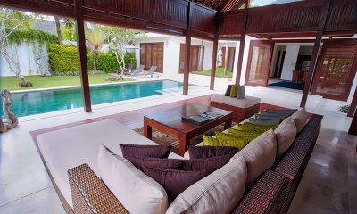 Saba Villas Bali Villa Bima Living Area   Canggu, Bali