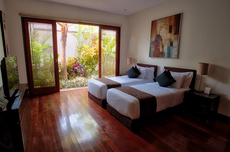 Saba Villas Bali Villa Bima Twin Bedroom Area | Canggu, Bali