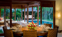 Saba Villas Bali Villa Bima Open Plan Dining Area | Canggu, Bali