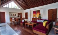 Saba Villas Bali Villa Sadewa Living Area | Canggu, Bali