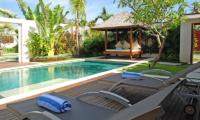 Saba Villas Bali Villa Sadewa Pool Decks | Canggu, Bali
