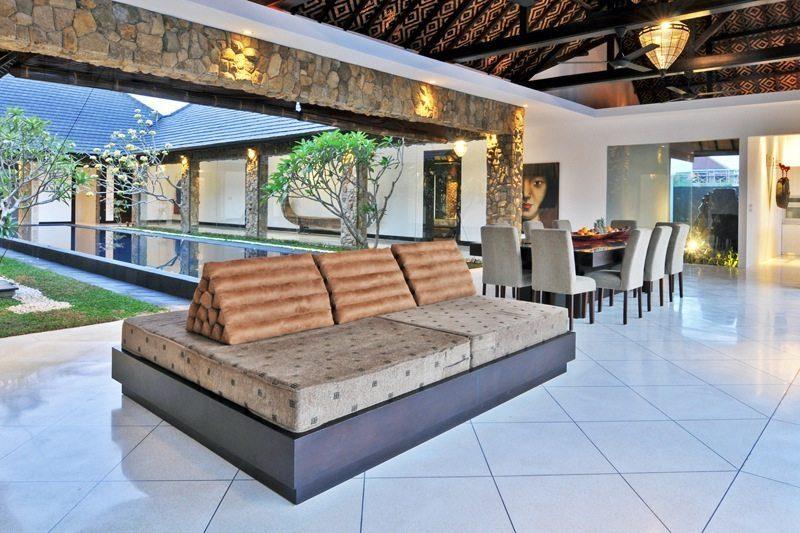 Villa Samudra Raya Seating Area | Seminyak, Bali