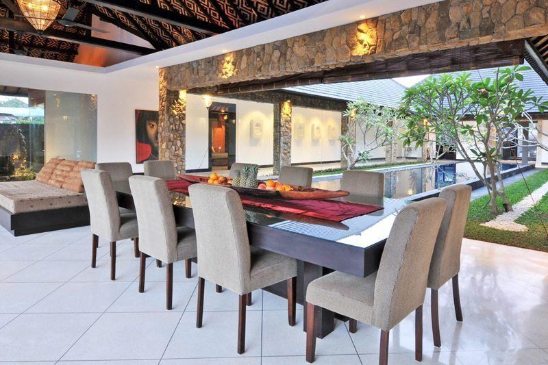 Villa Samudra Raya Dining Area I Seminyak, Bali