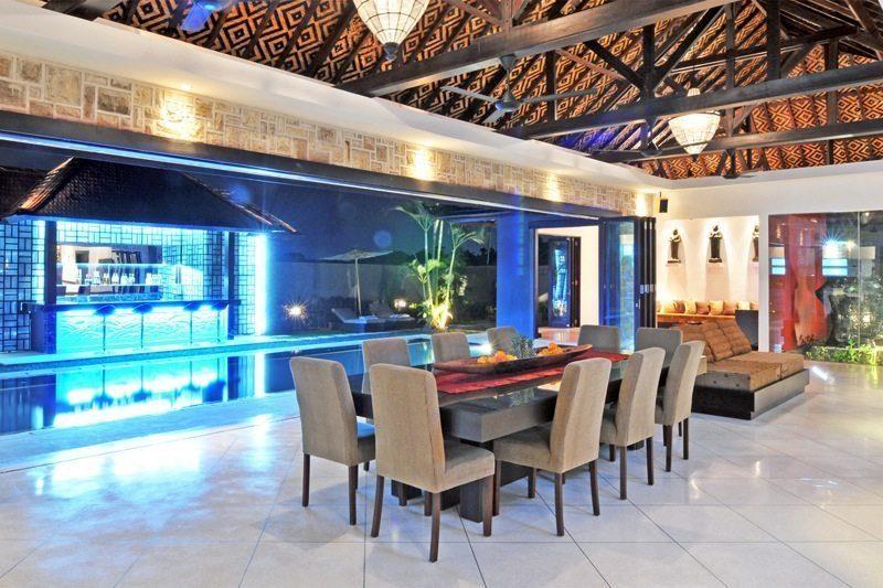 Villa Samudra Raya Open Plan Dining Area I Seminyak, Bali