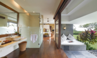 The Longhouse En-suite Bathroom with Garden View | Jimbaran, Bali