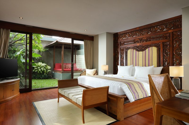 The Shanti Residence Bedroom Front View | Nusa Dua, Bali