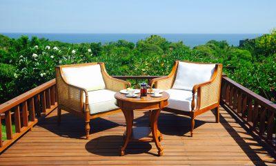 The Shanti Residence Outdoor Seating Area | Nusa Dua, Bali