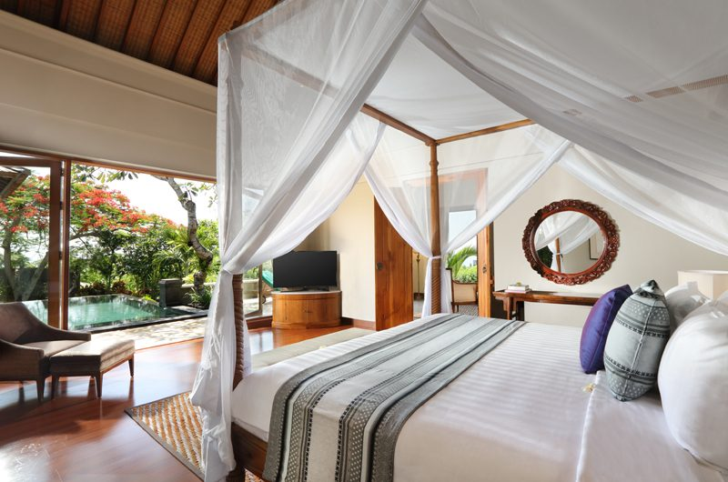 The Shanti Residence Bedroom with Pool View | Nusa Dua, Bali